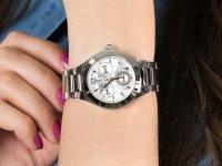 Zegarek srebrny sportowy Invicta Angel 30681 bransoleta - duże 6