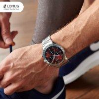 Lorus RT337HX9 zegarek srebrny sportowy Sportowe bransoleta