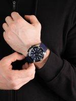 Zegarek srebrny sportowy Timberland Sport TBL.14108JSTB-03 pasek - duże 5
