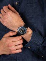 Zegarek srebrny sportowy Timex Allied TW2R43600 pasek - duże 5