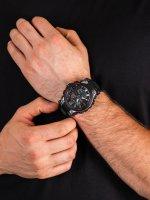 Zegarek srebrny sportowy Timex DGTL Analog TW5M30800 pasek - duże 5