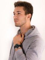 Zegarek srebrny sportowy Timex DGTL Sphere TW5M34600 pasek - duże 4