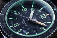 Traser TS-109378 zegarek srebrny sportowy P67 SuperSub bransoleta