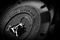 Traser TS-109380 zegarek srebrny sportowy P67 SuperSub pasek