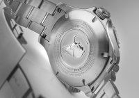 Traser TS-109381 zegarek srebrny sportowy P67 SuperSub bransoleta