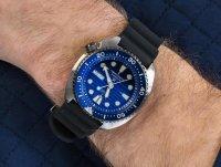 Seiko SRPC91K1 Prospex Turtle Save The Ocean Diver Automatic Special Edition zegarek sportowy Prospex