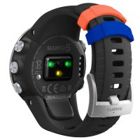 Suunto SS050445000 zegarek srebrny sportowy Suunto 5 pasek