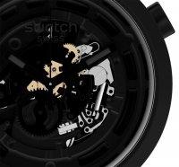 zegarek Swatch SB03B100 kwarcowy męski Big Bold C-BLACK