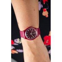 Zegarek Swatch SO28R103 - duże 5