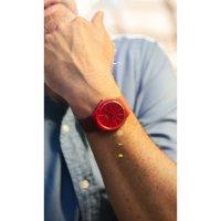 Swatch SO29R700 męski zegarek Originals New Gent pasek