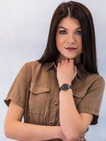 Zegarek szary elegancki Citizen Elegance EM0528-82H bransoleta - duże 4
