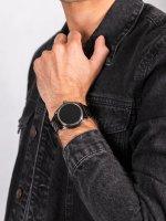 Zegarek szary fashion/modowy Diesel ON DZT2018 pasek - duże 5