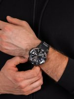 Zegarek szary klasyczny  Bolt 31172 pasek - duże 5