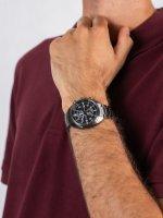 Zegarek szary klasyczny Citizen Ecodrive CA7047-86E bransoleta - duże 5