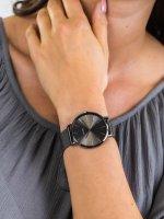 Zegarek szary klasyczny Cluse La Boheme CW0101201022 bransoleta - duże 5