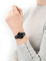Zegarek szary klasyczny Cluse Minuit CW0101203025 bransoleta - duże 5