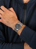 Zegarek szary klasyczny Skagen Melbye SKW6078 bransoleta - duże 5