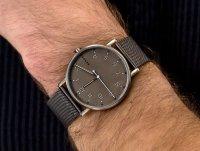 Zegarek szary klasyczny Skagen Signatur SKW6354 bransoleta - duże 6