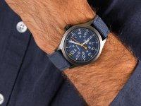 Zegarek szary klasyczny Timex Allied TW2R46200 pasek - duże 6