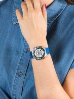 Zegarek szary sportowy Casio Klasyczne LWS-1100H-2AVEF pasek - duże 5