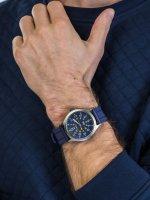 Zegarek szary sportowy Timex Allied TW2R61100 pasek - duże 5