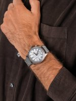 Zegarek szary sportowy Timex Allied TW2T75700 pasek - duże 5