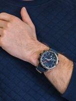 Zegarek szary sportowy Timex Allied TW2T76300 pasek - duże 5
