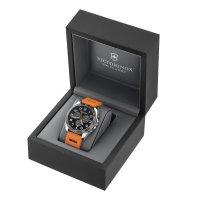 Victorinox 241893 zegarek srebrny sportowy Fieldforce pasek