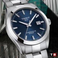 zegarek Tissot T127.407.11.041.00 GENTLEMAN POWERMATIC 80 SILICIUM Gentleman szafirowe