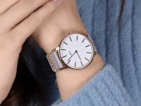 zegarek Timex TW2T45400 różowe złoto Transcend