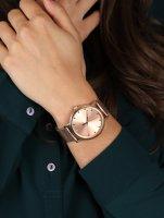 zegarek Timex TW2U05500 różowe złoto Originals