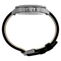 Timex TW2U10700 zegarek srebrny klasyczny Allied pasek