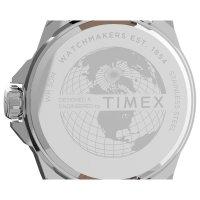 Timex TW2U14900 zegarek srebrny klasyczny Essex Avenue pasek