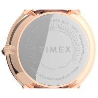 Timex TW2U22700 zegarek różowe złoto klasyczny Norway pasek