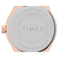 Timex TW2U23300 zegarek różowe złoto klasyczny Waterbury bransoleta