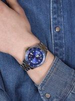 zegarek Timex TW2U71800 srebrny Harborside