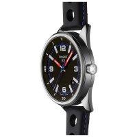 Tissot T123.610.16.057.00 zegarek srebrny klasyczny Alpine pasek