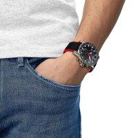 zegarek Tissot T125.617.17.051.01 męski z tachometr Supersport Chrono