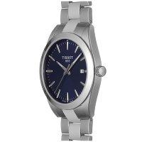 Tissot T127.410.11.041.00 męski zegarek Gentleman bransoleta