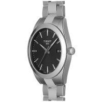 Tissot T127.410.11.051.00 męski zegarek Gentleman bransoleta