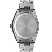 Tissot T127.410.11.051.00 zegarek srebrny klasyczny Gentleman bransoleta