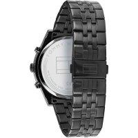 Tommy Hilfiger 1791738 zegarek czarny fashion/modowy Męskie bransoleta