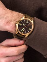 Traser TS-108073 P67 Officer Pro Automatic Bronze Brown zegarek klasyczny P67 Officer Pro