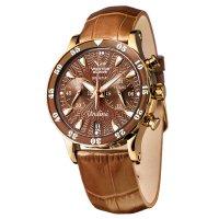 zegarek Vostok Europe VK64-515B569B damski z chronograf Undine