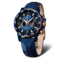 zegarek Vostok Europe VK64-515E628 Undine Chrono damski z chronograf Undine