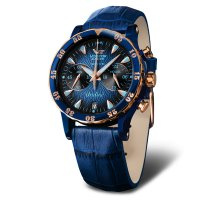 zegarek Vostok Europe VK64-515E628B damski z chronograf Undine