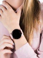 zegarek Garett 5903246286526 różowe złoto Damskie