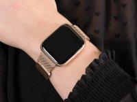 Garett 5903246287080 Smartwatch Garett Women Eva RT złoty stalowy zegarek sportowy Damskie