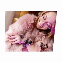 Garett 5903246287189 Damskie Smartwatch Garett Women Nicole RT różowy stalowy zegarek damski sportowy z tworzywa sztucznego