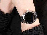 Garett 5903246287240 Smartwatch Garett Women Naomi RT czarny skórzany zegarek sportowy Damskie